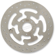 Stainless Steel Drilled Front Brake Rotor - 1710-3212