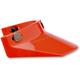 Orange Three Snap Visor  - MV-ORG-00-SD