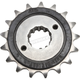 Front Rubber Cushioned Sprocket - JTF1372.17RB