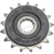 Front Rubber 17 Tooth Cushioned Sprocket - JTF1537.17RB