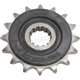 Front Rubber Cushioned Sprocket - JTF1586.16RB