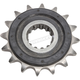 Front Rubber 16 Tooth Cushioned Sprocket - JTF1591.16RB