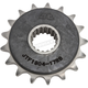 Front Rubber 17 Tooth Cushioned Sprocket - JTF1904.17RB