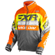 Charcoal/Orange/Hi-Vis Cold Cross Race Ready Jacket