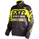 Black/Hi-Vis/Charcoal Cold Cross Race Ready Jacket