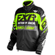 Black/Lime/Charcoal Cold Cross Race Ready Jacket
