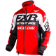 Red/Black/White Cold Cross Race Ready Jacket