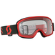 Youth Red/Black Buzz Pro Goggles w/Clear Lens - 262602-1018113