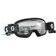Youth Black/White Buzz Pro WFS Goggles w/Clear Lens - 262578-1007113