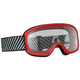 Youth Red Buzz Goggles w/Clear Lens - 262579-0004043