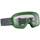 Youth Green Buzz Goggles w/Clear Lens - 262579-0006043