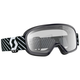 Youth Black Buzz Goggles w/Clear Lens - 262579-0001043