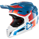 Blue/White GPX 5.5 Composite V10 Helmet