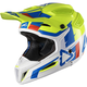 Lime/White GPX 5.5 Composite V10 Helmet