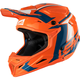 Orange/Denim GPX 4.5 V20 Helmet