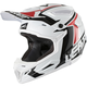 White/Black GPX 4.5 V20 Helmet
