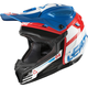 Youth Blue/White GPX 4.5 V10 Helmet