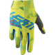 Junior Lime/Teal GPX 1.5 Gloves