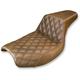 Front Lattice-Stitch Step-Up Seat - 882-09-172BR