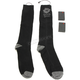 Black/Gray Heated Socks