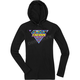 Women's Black Georacer Thermal Hoody