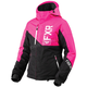 Women's Black/Fuchsia/White Fresh Jacket