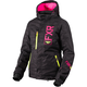 Women's Black Cascade/Hi-Vis/Electric Pink Fresh Jacket
