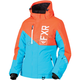 Women's Aqua/Electric Tangerine Fresh Jacket
