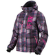 Women's Wineberry/Fuchsia Plaid Fresh Jacket