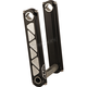 Black 4 in. Fixed Height Tech Risers - SR-35-4