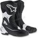 Black/White SMX-S Boots