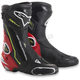 Black/Fluorescent Red/White/Fluorescent Yellow SMX Plus Boots