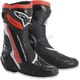 White/Black/Fluorescent Red SMX Plus Boots