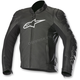 Black SP-1 Airflow Leather Jacket