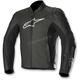 Black SP-1 Leather Jacket