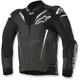 Black Atem Leather Jacket v3
