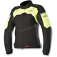 Women's Black/Flo Yellow  Stella Hyper Drystar Jacket