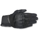 Black/Anthracite Booster Leather Gloves