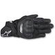 Black SP-5 Leather Gloves