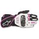 Women's Black/White/Fuchsia Stella SP 1 Gloves
