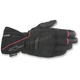 Black/Red Primer Drystar Leather Gloves