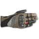 Black/Tobacco Brown/Red Belize Drystar Gloves
