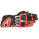 White/Black/Fluorescent Red GP Plus R Gloves