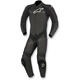 Black Challenger 1-Piece Leather Suit v2