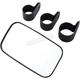 Rear & Side View UTV Mirror w/Three Clamp Sizes - 0640-1193