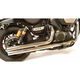 Chrome 2 1/4 in. Fat Stakker Exhaust System - 004-0924