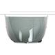 Dark Smoke Anti-Scratch HJ-27 Shield w/Insert Pins for DS-X1 Helmets - 510-215
