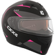 Pink Flex RSV Control Snow Modular Helmet w/Electric Shield