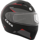 Red Flex RSV Control Snow Modular Helmet w/Electric Shield