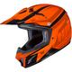 Youth Orange/Red CL-XY II Bator MC-7 Helmet